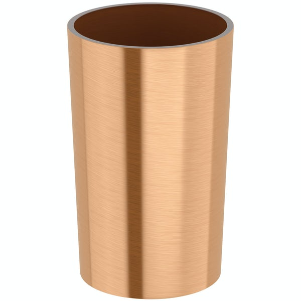 Glaze copper tumbler