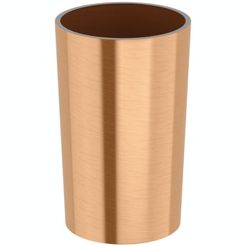 Accents Glaze copper tumbler