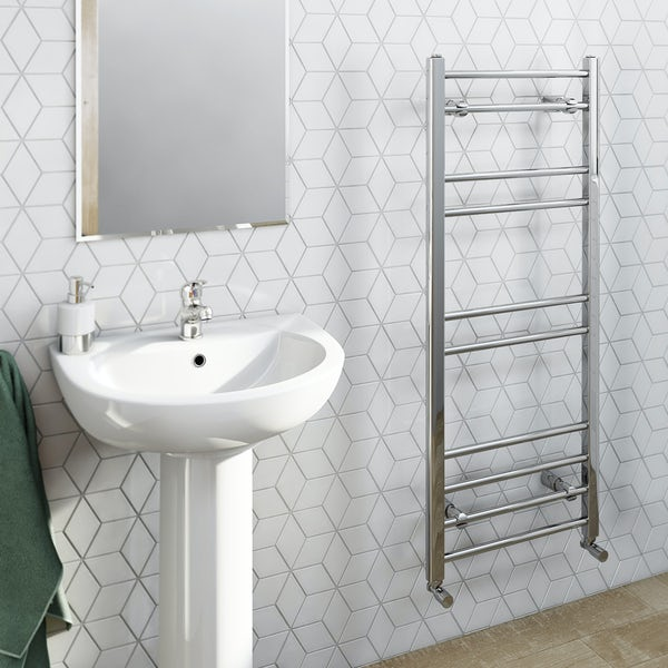 Eco Heated Towel Rail 1200 X 500