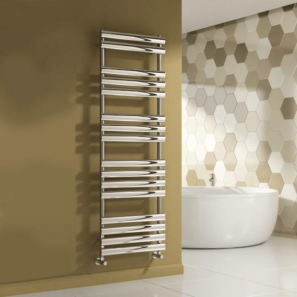 Reina Arbori chrome steel designer radiator