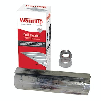 Warmup Foil heater underfloor heating system 140w