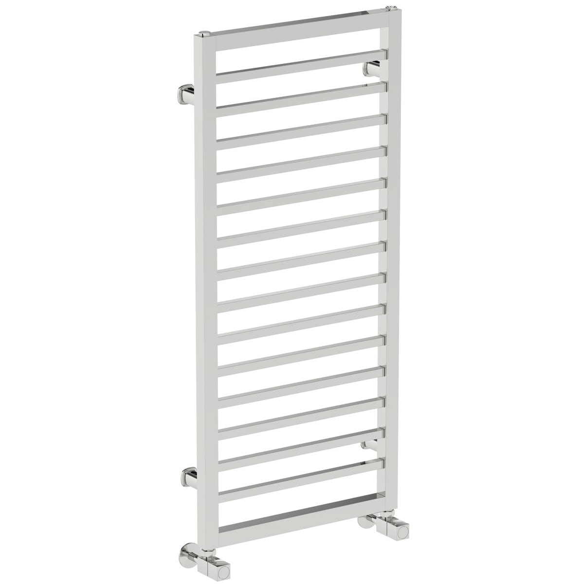 Mode Burton chrome heated towel rail 1000 x 450