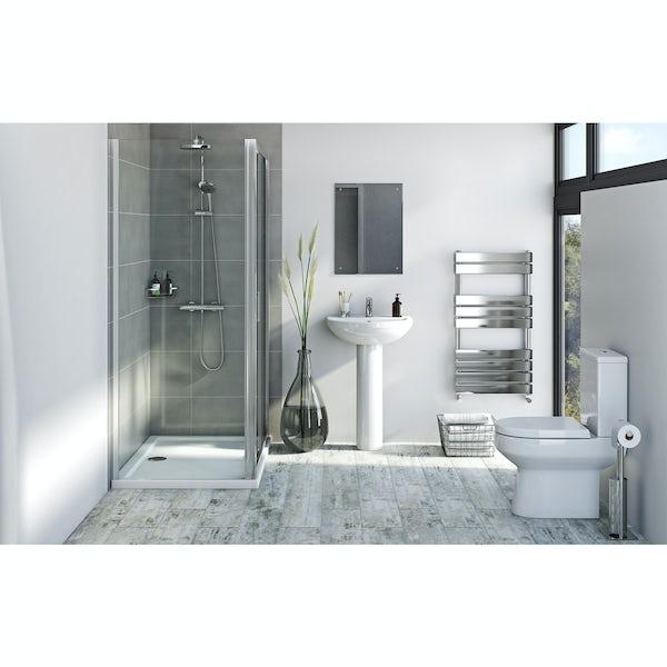 Bristan and Orchard complete shower enclosure suite 1200 x 800