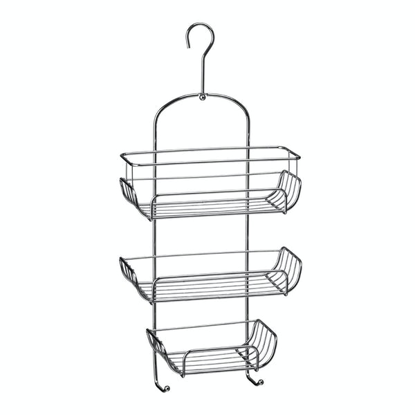 Chrome 3 tier hanging shower caddy