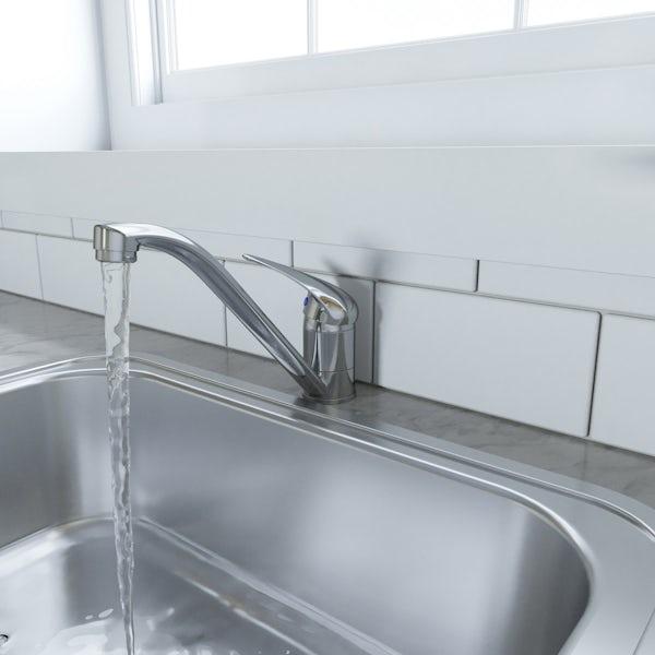 Schön single lever kitchen mixer tap
