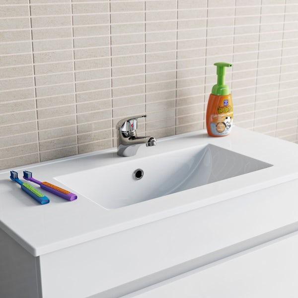 Clarity single lever basin mixer tap