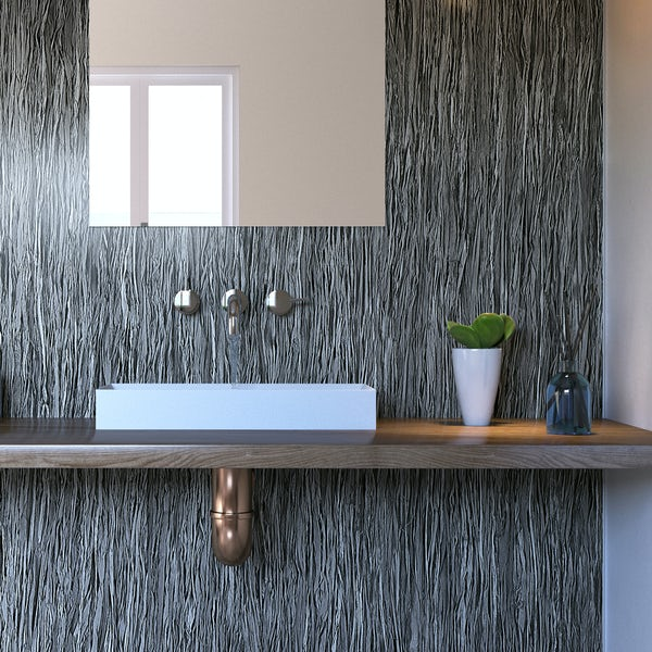 Showerwall Lineal Smoke waterproof shower wall panel