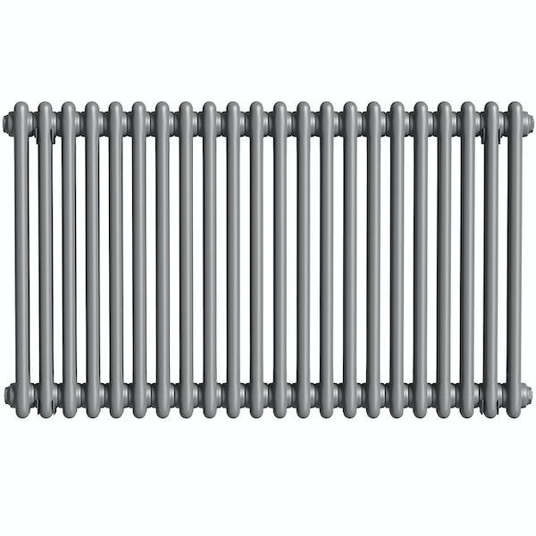 The Heating Co. Corso anthracite grey 2 column radiator
