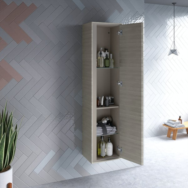 Ideal Standard Concept Air wood light brown wall cabinet