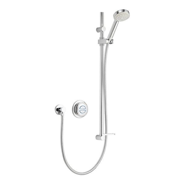 Aqualisa quartz digital concealed shower standard