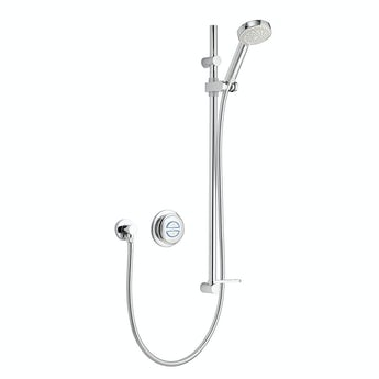 Aqualisa quartz concealed digital shower standard
