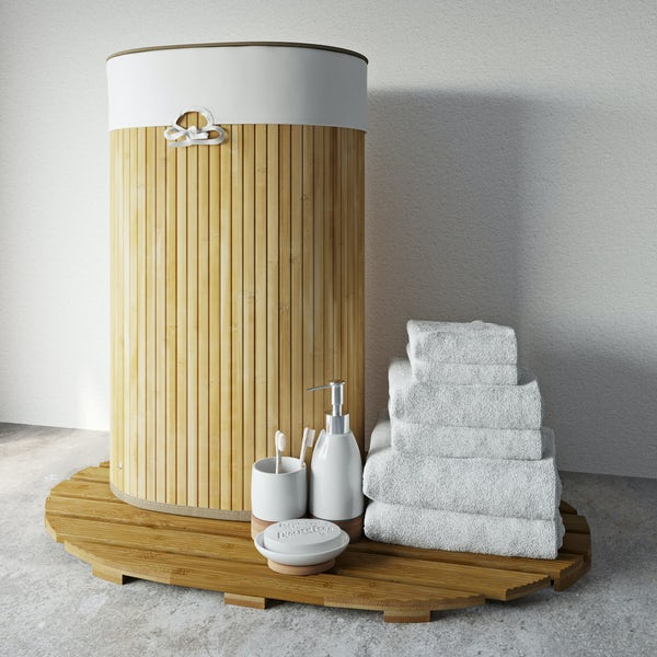 Accents Bamboo bathroom bundle
