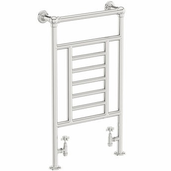 The Heating Co. Winchester chrome heated towel rail 914 x 535