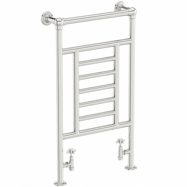 The Bath Co. Winchester chrome heated towel rail 914 x 535