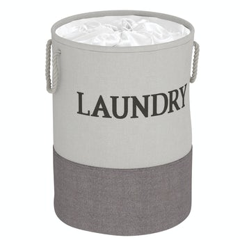 Accents Laya laundry hamper grey