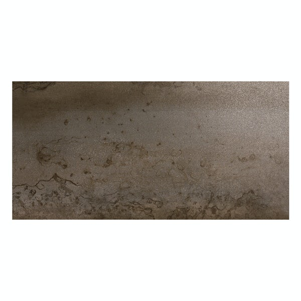 Cosmic copper effect lappato textured wall and floor tile 300mm x 600mm