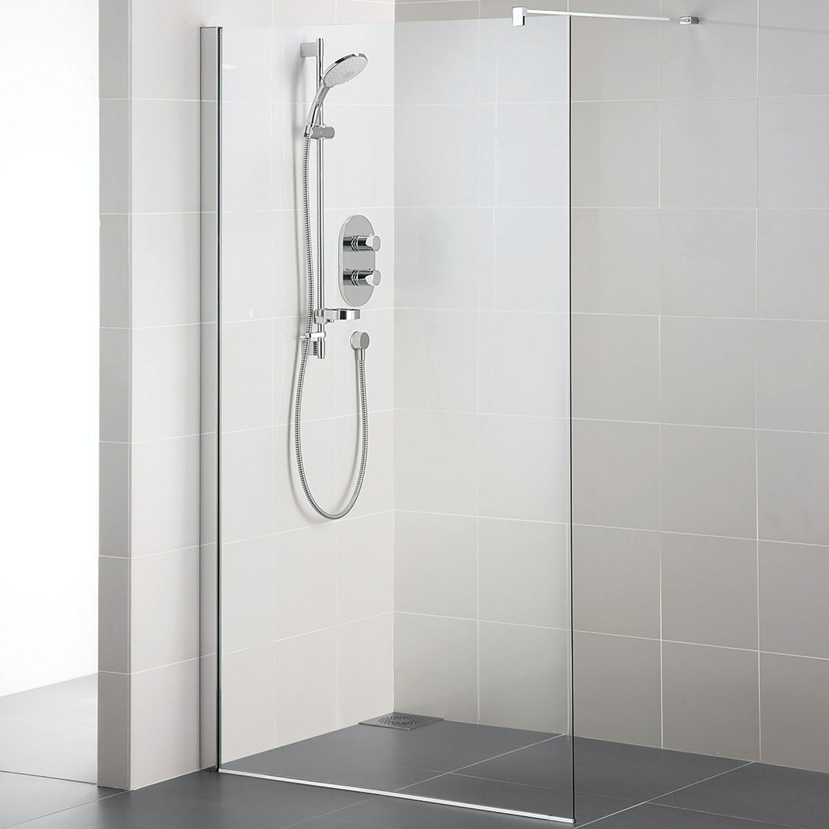 Ideal Standard Synergy 8mm Wet Room Panel With A Idealclean Glass