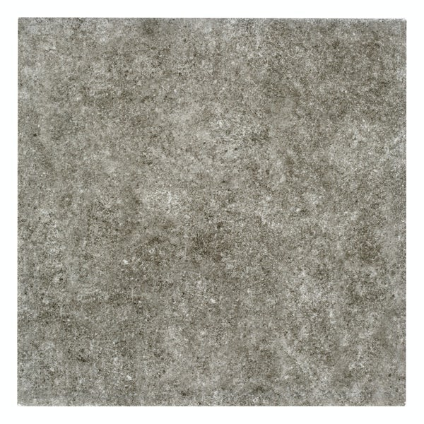 Toledo dark grey matt wall and floor tile 200mm x 200mm