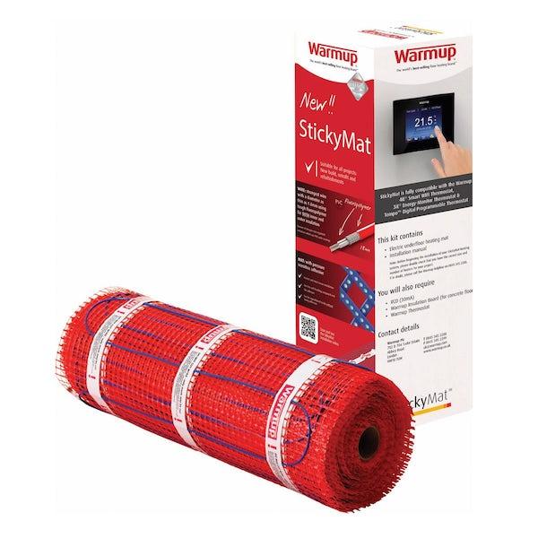 Warmup StickyMat underfloor heating mat 200w