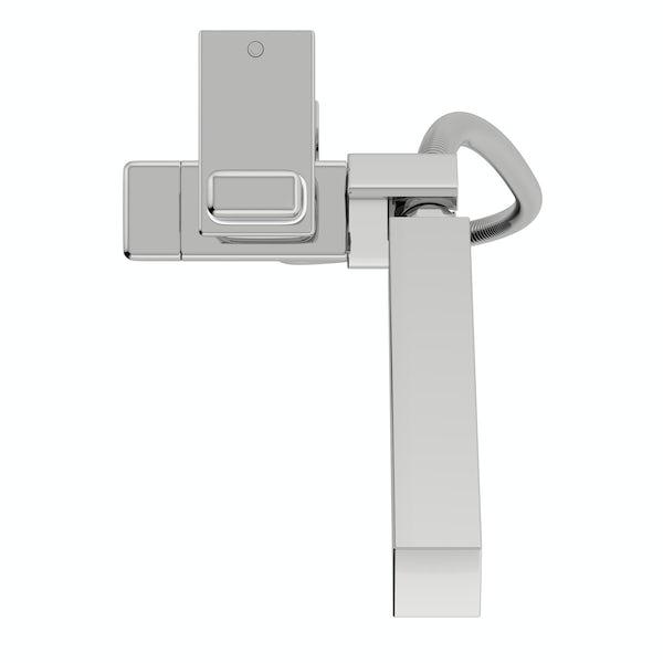 Orchard Simple square sliding shower rail kit