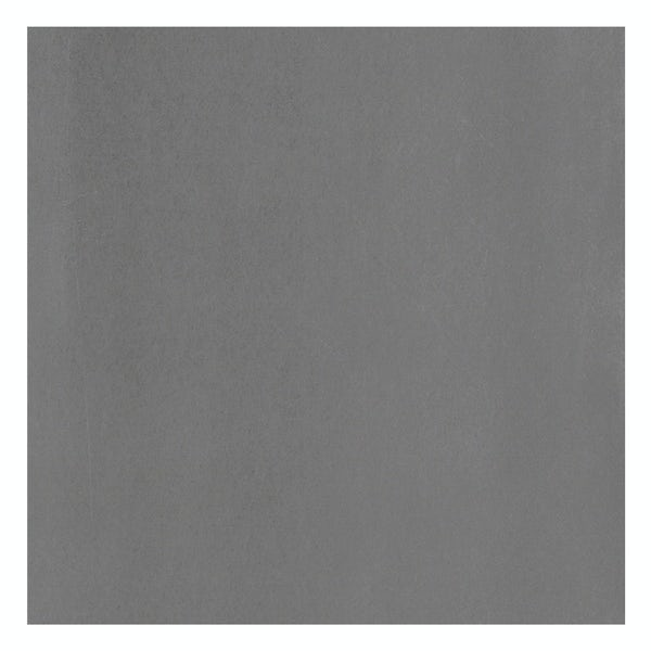 Granby anthracite flat stone effect matt wall and floor tile 457mm x 457mm