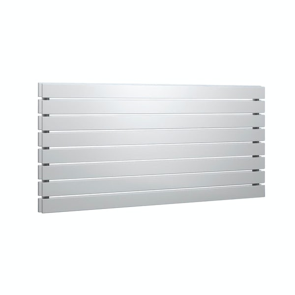 Reina Rione white double steel designer radiator