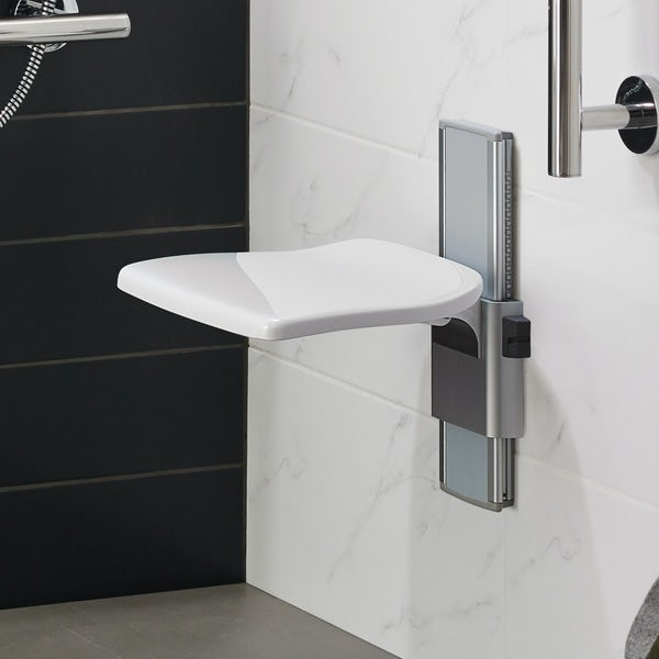 Ideal Standard Care plus folding shower seat