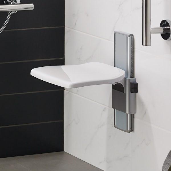 Ideal Standard Care plus folding shower seat