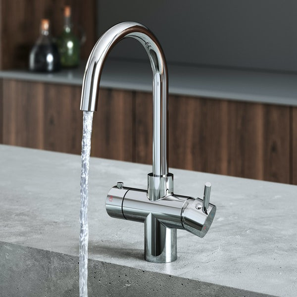 Bristan Gallery Rapid 3 in 1 boiling water tap