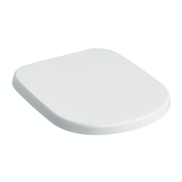Ideal Standard Tempo soft close toilet seat for short projection