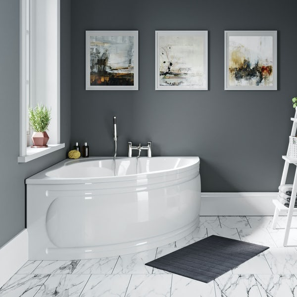Orchard Elsdon offset corner bath panel