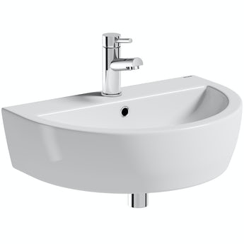 Mode Tate 1 tap hole wall hung basin 550mm