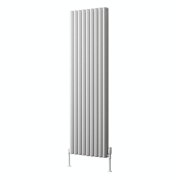 Reina Alco white vertical aluminium designer radiator