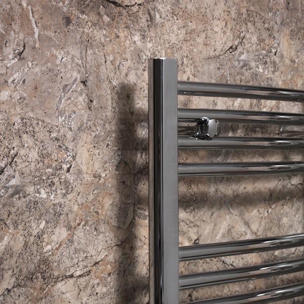 Showerwall Scala Marble waterproof proclick shower wall panel