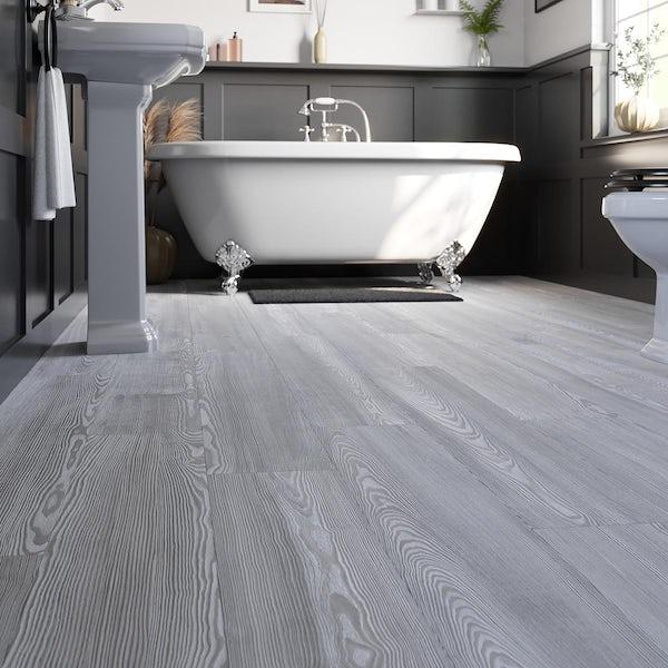 Larose white elm laminate flooring 8mm