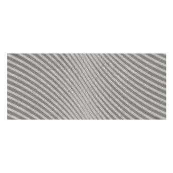 Matano light grey textured stone effect matt wall tile 250mm x 600mm