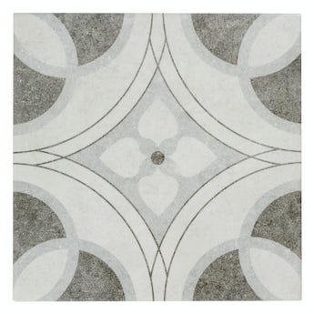The Bath Co. Toledo Eva traditional matt wall and floor tile 200mm x 200mm