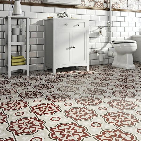 Valencia Maya traditional matt wall and floor tile 200mm x 200mm