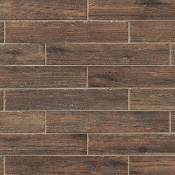 Arden wenge wood effect matt wall and floor tile 70mm x 300mm