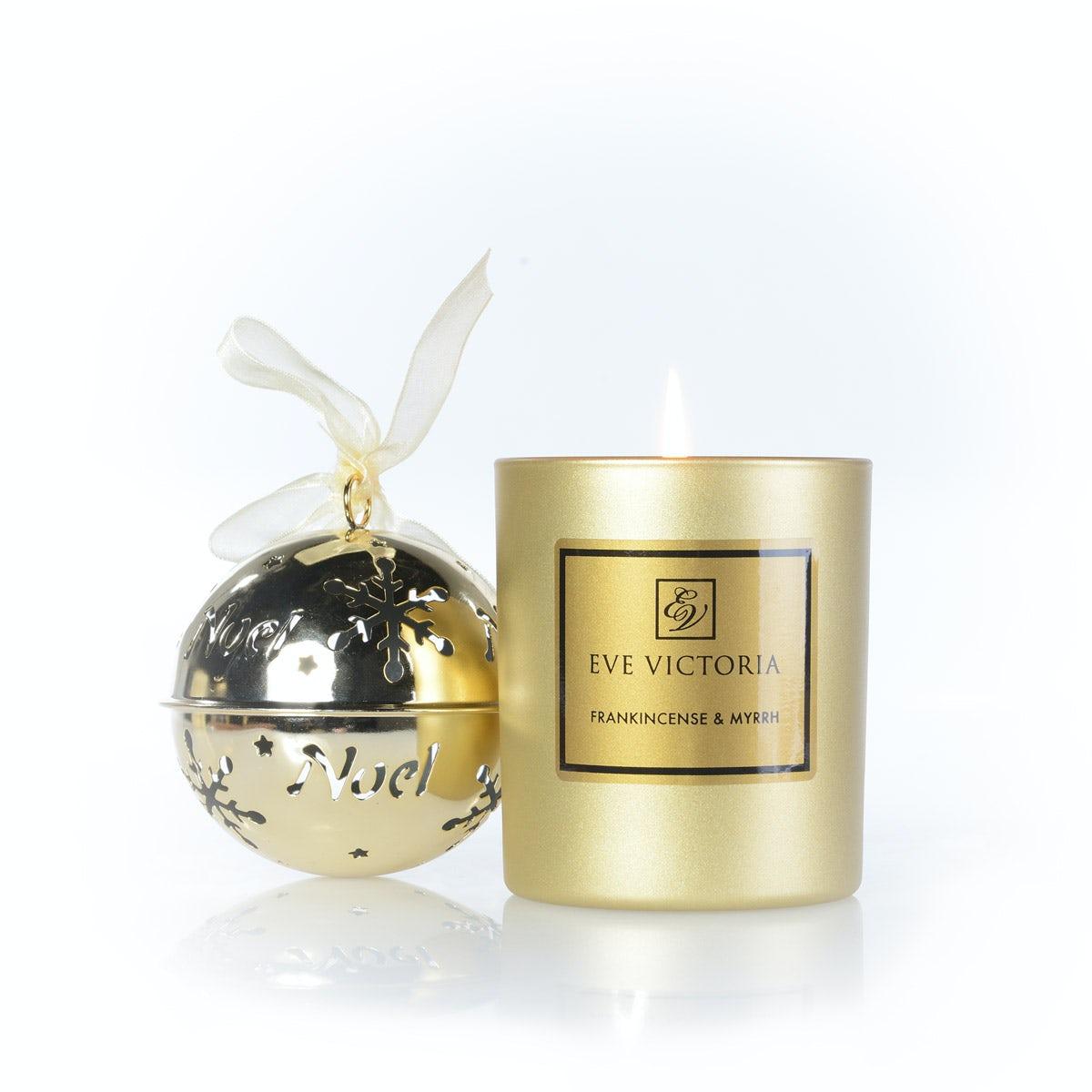 Eve Victoria Frankincense & myrrh large candle 30cl
