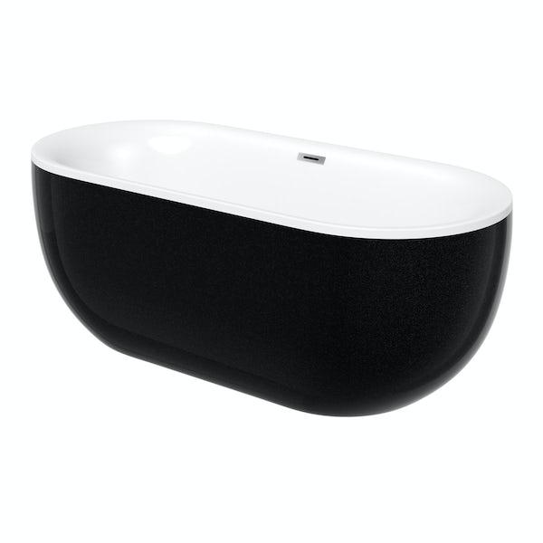 Ellis galaxy coloured freestanding bath
