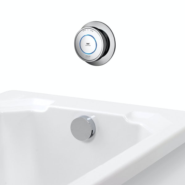Aqualisa Quartz Smart digital bath fill system standard