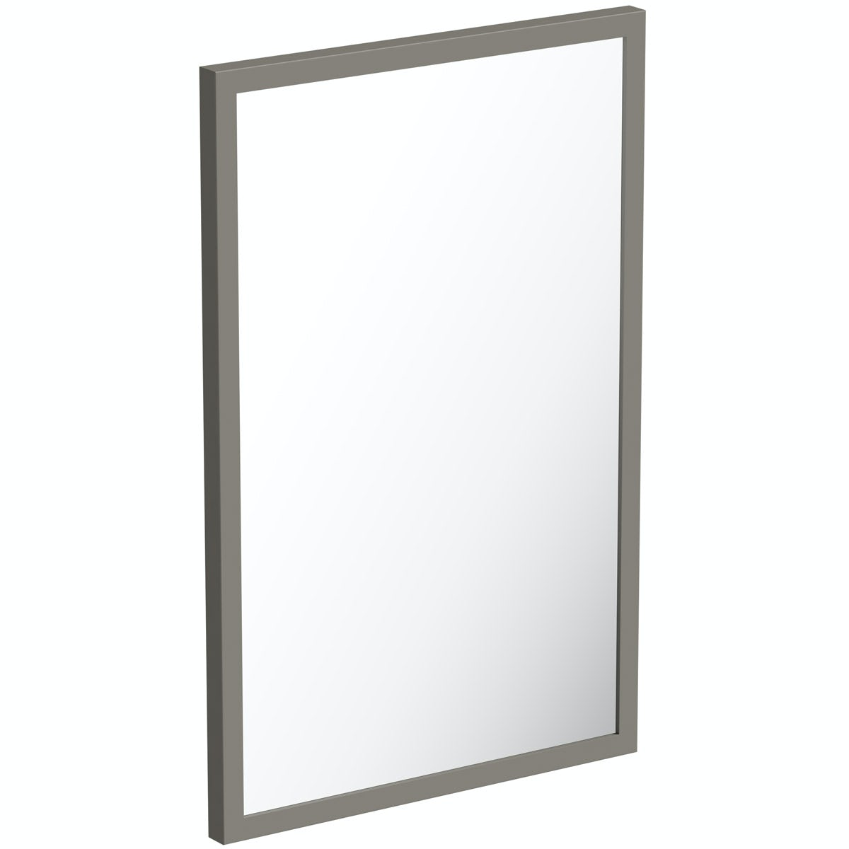 Mode Hale greystone matt mirror 550 x 800mm
