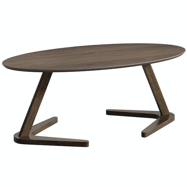 Logan Walnut Coffee Table