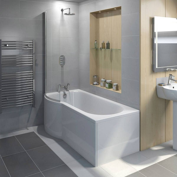 Evesham Shower Bath Screen