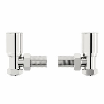 Orchard angled radiator valves