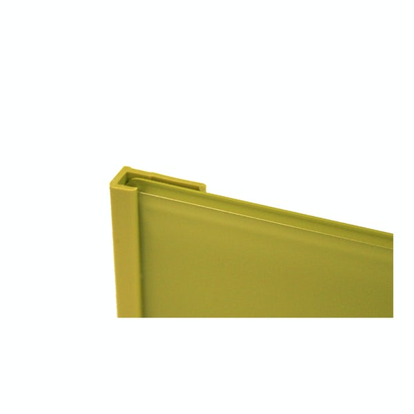 Zenolite plus matt earth colour matched edge cap 250mm