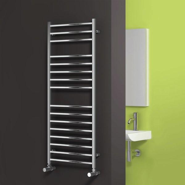 Reina Luna stainless steel designer towel rail