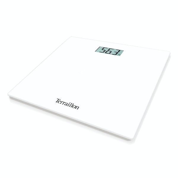 Terraillon TP1000 LCD white bathroom scale