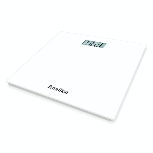 Terraillon TP1000 LCD white bathroom scale